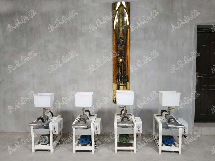 50型卧式擀面皮机产品展示