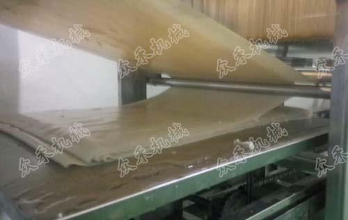 120型数控凉皮机生产方形凉皮