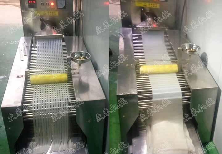 100型多功能面皮机视频加工生产凉皮技术教学