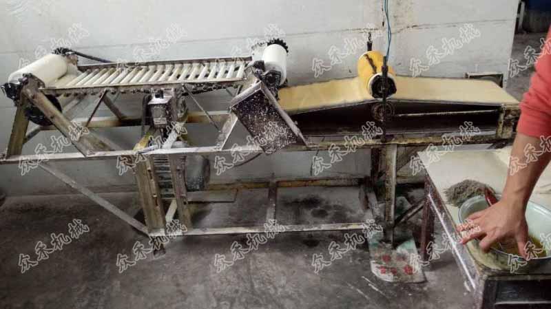 订做仿手工擀面皮成型揉面一体机
